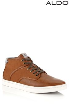 Aldo Lace Up Hi Top Trainers