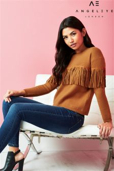Angeleye Fringe Detail Jumper