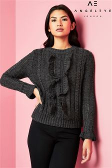 Angeleye Cable Knitt Jumper