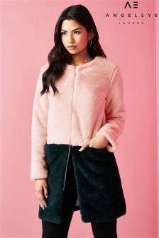 Angeleye Faux Fur Coat