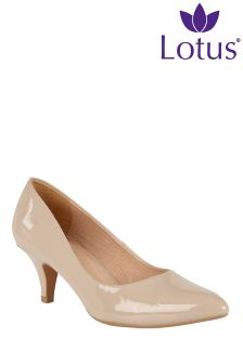 Lotus Stiletto Court Shoes