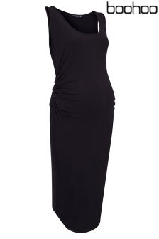 Boohoo Maternity Midi Dress