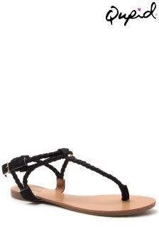Qupid Thong Sandals