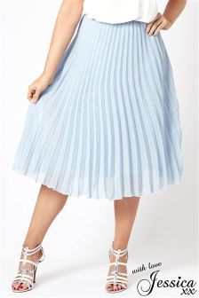 Jessica Wright Pleated Skirt