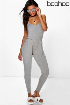 Boohoo Carrie Basic Cami Jumpsuit