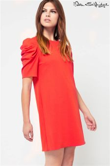 Miss Selfridge Short Sleeve Shift Dress