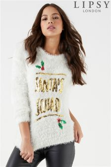 Lipsy Santa Squad Jumper