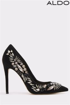Aldo Pointy Toe Embellished Heels