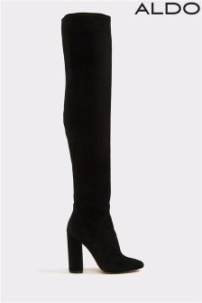 Aldo Over The Knee Velvet Boots