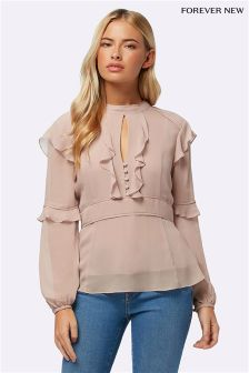 Forever New Petite Frill Blouse