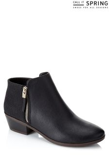 Call It Spring Ladies Bootie With Side Zip