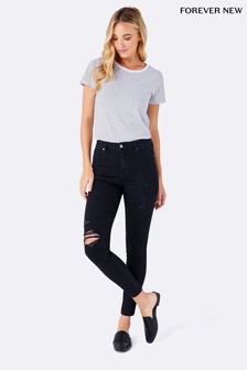 Forever New Lily High Rise Ankle Grazer Jeans