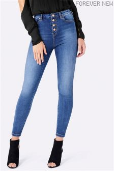 Forever New High Waist Ankle Grazer Jean