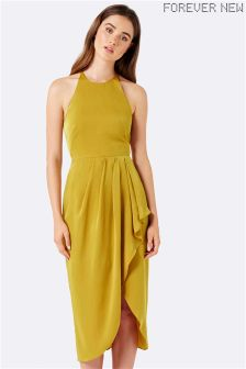 Forever New Amber Wrap Midi Dress