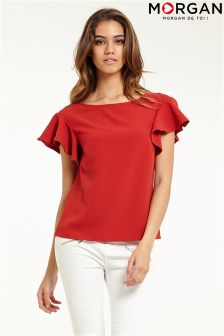 Morgan Flutter Sleeve Top