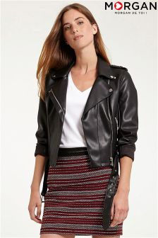 Morgan Biker PU Jacket