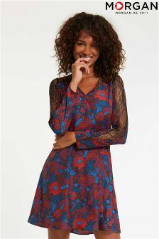 Morgan Lace Insert Dress