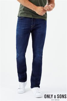 Only & Sons Straight Slim Jeans