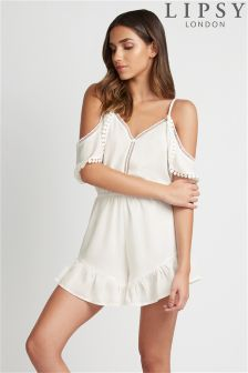 Lipsy Cold Shoulder Playsuit