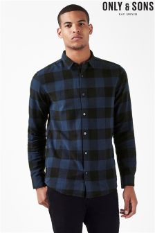 Only & Sons Checked Shirt
