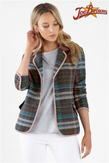 Joe Browns Unique Check Heritage Jacket