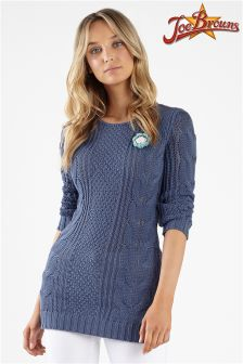 Joe Browns Longline Corsage Sweater