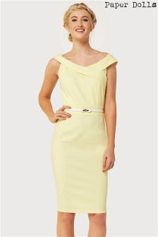 Paperdolls Bardot Pencil Dress