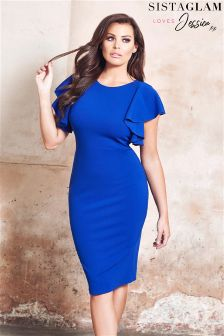 Jessica Wright  Bodycon Midi Dress