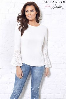 Jessica Wright Sleeve Detail Blouse
