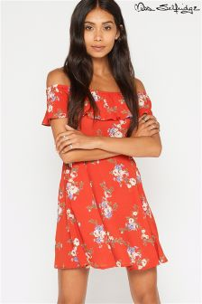 Miss Selfridge Petite Off Shoulder Dress