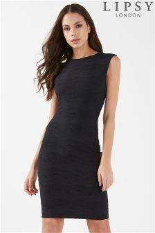 Lipsy Jacquard Bodycon Dress