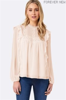 Forever New Lace Blouse