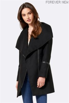Forever New Funnel Neck Coat