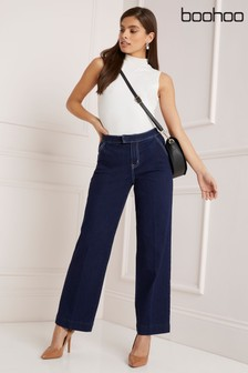 Boohoo Lara Matte PU Coated Skinny Trousers