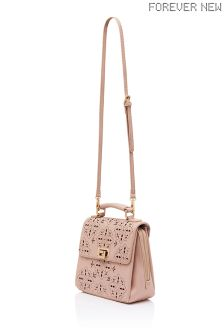 Forever New Laser Cut Satchel Bag