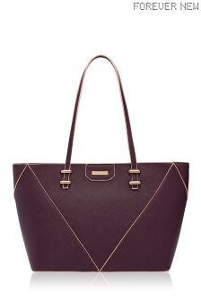 Forever New Spliced Tote Bag
