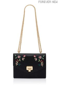 Forever New Embroidered Small Bag