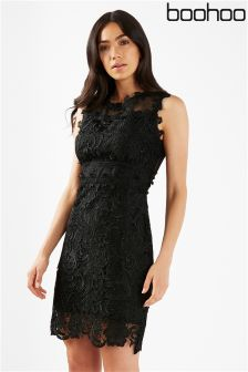 Boohoo Corded Lace Dress