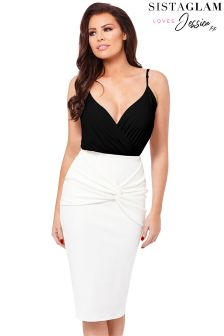 Jessica Wright V neck Bodysuit