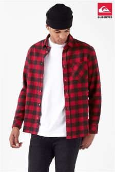 Quiksilver Flannel Long Sleeve Shirt
