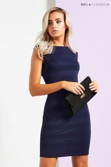 Mela London Stripe Bodycon Dress