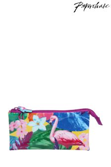 Paperchase Glamingo Triple Pencil Case