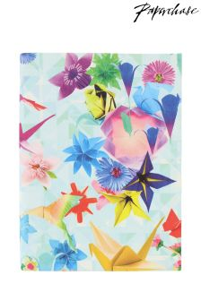 Paperchase Fold And Fly A6 Flexi Linen Notebook