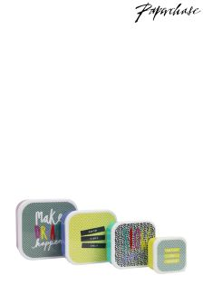 Papperchase Dotty Slogan Snack Boxes