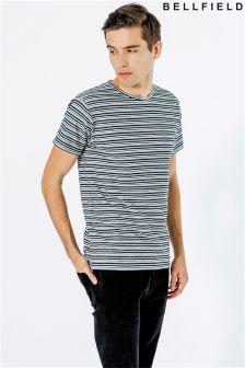 Bellfield Stripe Jacquard T-Shirt