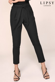 Lipsy Elasticated Waist Tapered Trousers