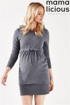 Mamalicious Maternity Hooded Sweatshirt