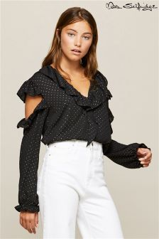 Miss Selfridge Asymmetric Blouse