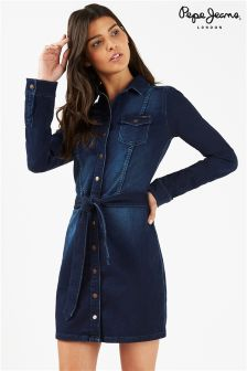 Pepe Jeans Denim Shirt Dress