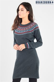 Brakeburn Fairisle Jumper Dress